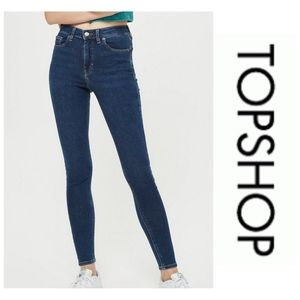 Topshop Moto Jamie High Rise Jeans